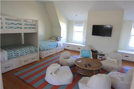 Katama - Edgartown,  Edgartown Martha's Vineyard vacation rental - Bunk room/kids lounge