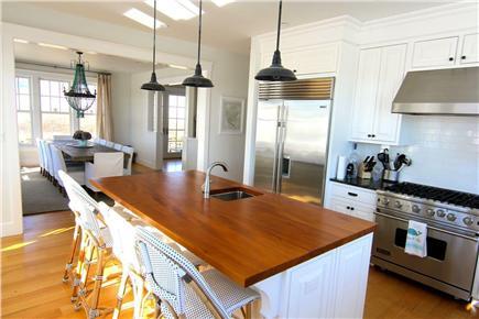Katama - Edgartown,  Edgartown Martha's Vineyard vacation rental - Kitchen looking into Dining Room