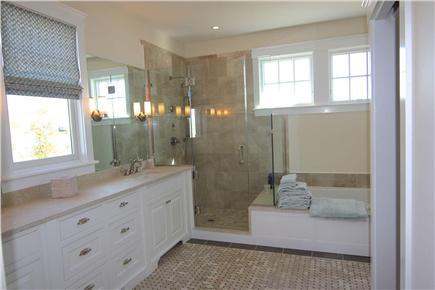 Katama - Edgartown,  Edgartown Martha's Vineyard vacation rental - Downstairs Master Bath