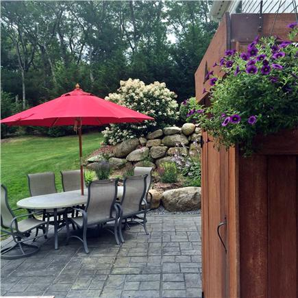 Vineyard Haven Martha's Vineyard vacation rental - Relax on the outside patio and take and outside shower