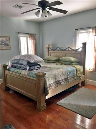 Vineyard Haven Martha's Vineyard vacation rental - Master Bedroom with 1 year old new king matress