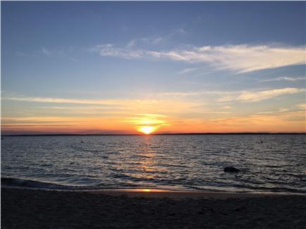 West Tisbury Martha's Vineyard vacation rental - Lambert's Cove beach sunset