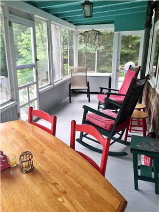 West Tisbury Martha's Vineyard vacation rental - Porch