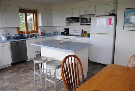 Aquinnah Martha's Vineyard vacation rental - Modern kitchen for gourmet dining with new Bosch dishwasher