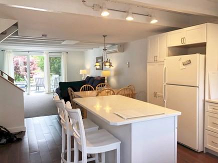 Katama - Edgartown Martha's Vineyard vacation rental - Kitchen and living room