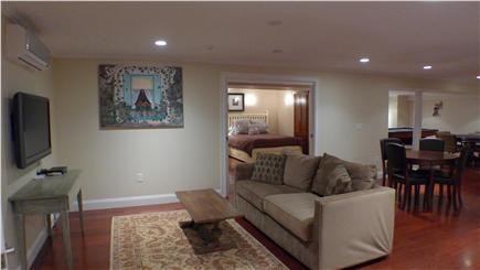 Oak Bluffs Martha's Vineyard vacation rental - Lower level private media room