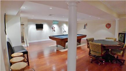 Oak Bluffs Martha's Vineyard vacation rental - Lowel level pool and poker table, perfect for recreation
