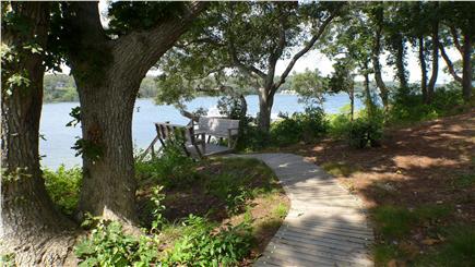 Oak Bluffs Martha's Vineyard vacation rental - Boardwalk to the beach