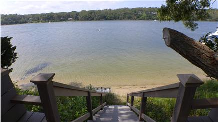 Oak Bluffs Martha's Vineyard vacation rental - The view of the sunset over the water is breathtaking