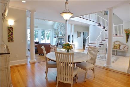 Oak Bluffs Martha's Vineyard vacation rental - Charming breakfast table
