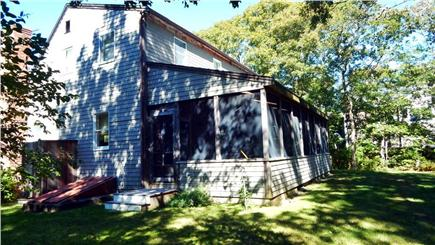 Oak Bluffs Martha's Vineyard vacation rental - Large screened in porch for additional dining space and relaxing