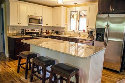 Oak Bluffs Martha's Vineyard vacation rental - Gorgeous Kitchen with Stainless Appliances and Granite Counter To