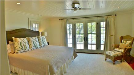 Edgartown Martha's Vineyard vacation rental - Second level queen with private bath and deck access