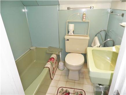 Oak Bluffs Martha's Vineyard vacation rental - 2nd Floor Bathroom (tub, sink, and toilet-no shower) has skylight
