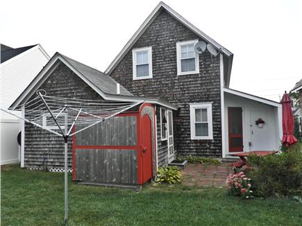 Oak Bluffs Martha's Vineyard vacation rental - Outdoor Shower, Clothesline, Patio w/BBQ & outdoor picnic table