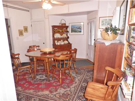 Oak Bluffs Martha's Vineyard vacation rental - The dining room opens out to the back patio.