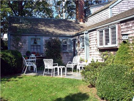 Edgartown Martha's Vineyard vacation rental - Yard and patio area