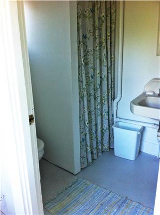 Oak Bluffs, Waban Park Martha's Vineyard vacation rental - Downstairs bathroom, with shower.There's an outdoor shower too.