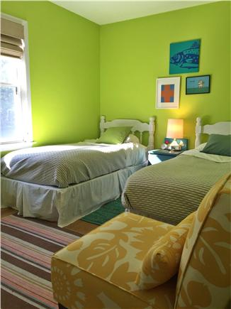 Vineyard Haven Martha's Vineyard vacation rental - Bedroom with two Twin size beds