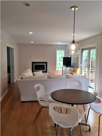 Vineyard Haven Martha's Vineyard vacation rental - Open floor plan living space view from kitchen