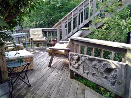 Chappaquiddick, Edgartown Martha's Vineyard vacation rental - First floor exterior patio