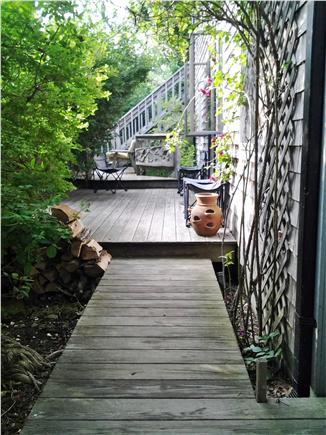 Chappaquiddick, Edgartown Martha's Vineyard vacation rental - Main entrance to the home