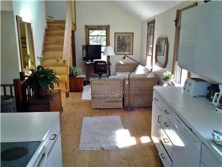 Chappaquiddick, Edgartown Martha's Vineyard vacation rental - Kitchen and common area