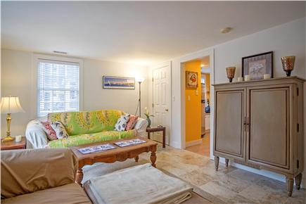 Oak Bluffs Martha's Vineyard vacation rental - Living room and kitchen are on 1st floor front and back entry
