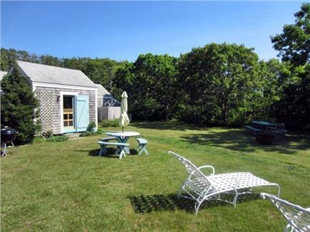Edgartown Martha's Vineyard vacation rental - Back yard