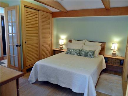 West Tisbury, North Tisbury Martha's Vineyard vacation rental - Master suite with private bath and garden room.