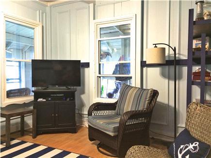 Oak Bluffs, Copeland Historic District Martha's Vineyard vacation rental - Front of living room.