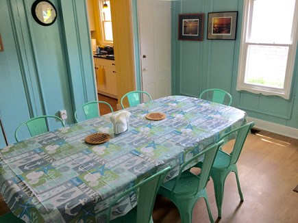 Oak Bluffs, Copeland District Martha's Vineyard vacation rental - Dining room seats 8.