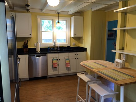 Oak Bluffs, Copeland Historic District Martha's Vineyard vacation rental - Updated granite kitchen, counter seating, dishwasher, disposal.