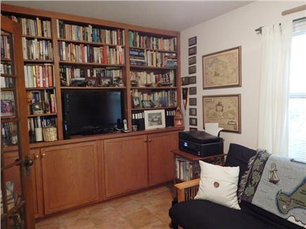 Oak Bluffs Martha's Vineyard vacation rental - Den/TV room with Futon