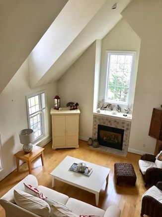 West Tisbury Martha's Vineyard vacation rental - View from the upstairs loft