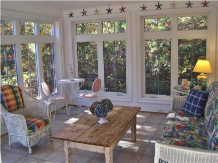 West Tisbury Martha's Vineyard vacation rental - Calm & comforting Sunroom