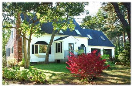 Edgartown Martha's Vineyard vacation rental - Front yard view