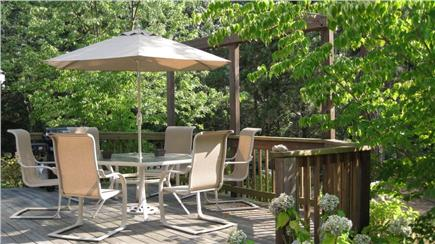 Edgartown Martha's Vineyard vacation rental - Patio in backyard