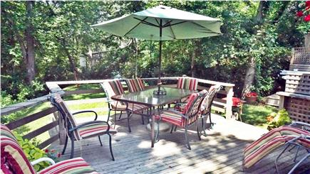 Chilmark Martha's Vineyard vacation rental - The deck has both Charcoal and Gas Grills