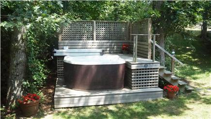 Chilmark Martha's Vineyard vacation rental - The Hot Tub is amazing night or day..