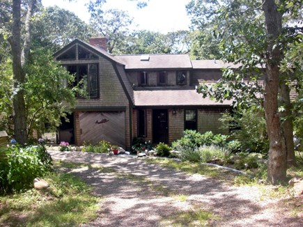 Chilmark Martha's Vineyard vacation rental - Circular Drive at Front Entrance