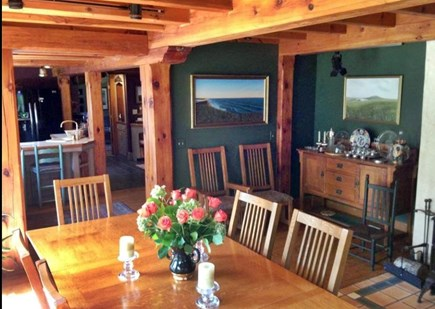 Chilmark Martha's Vineyard vacation rental - Dining Room