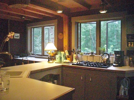 Chilmark Martha's Vineyard vacation rental - Kitchen Cooks Cockpit
