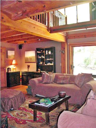 Chilmark Martha's Vineyard vacation rental - The Studio Living Room also has a Studio Easel