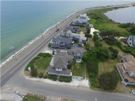 Oak Bluffs, historic district: beach, town Martha's Vineyard vacation rental - Corner house. Nantucket Sound,Farm Pond & coastline views.