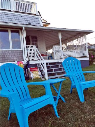 Oak Bluffs, Copeland district. In town by  Martha's Vineyard vacation rental - Beach chairs, umbrellas, and buggy.