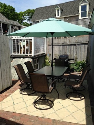 Oak Bluffs Martha's Vineyard vacation rental - Private patio with grill(great place for family meals)