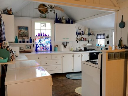 Oak Bluffs Martha's Vineyard vacation rental - Kitchen(lots of space and light!)