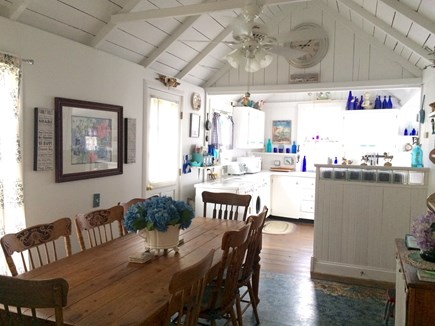 Oak Bluffs Martha's Vineyard vacation rental - Dining room/kitchen area