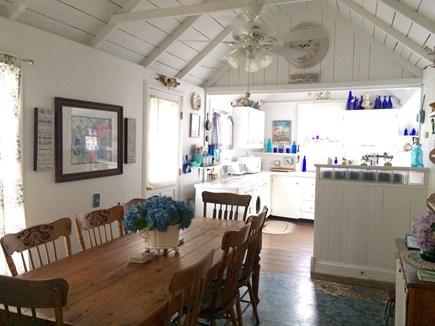Oak Bluffs Martha's Vineyard vacation rental - Dining room/kitchen area